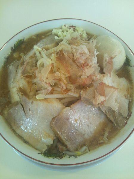 「豚味噌ラーメン(味玉付き)」@天高く翔べ! 22号店の写真